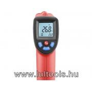Infravörös, digitális hőmérő, -50°C~ +550°C, LCD kijelző