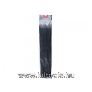 Kábelkötegelő 8.8×600mm 50db, fekete nylon