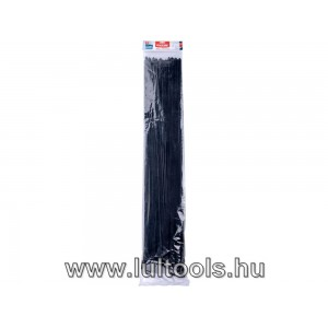 Kábelkötegelő 12,0×900mm 50db, fekete nylon