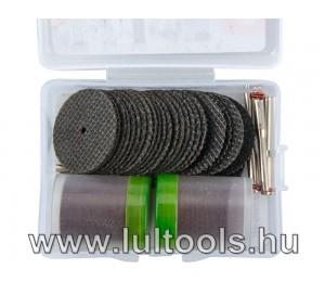 mini vágó- és daraboló klt. 3,2 mm befogás, 100 db