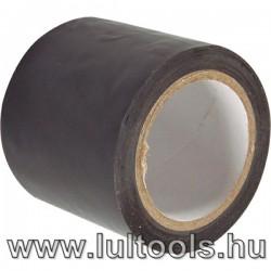 Szigetelő szalag, széles, fekete; 10m×50mm×0,13mm