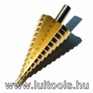 HSS lépcsős fúrószár 4-40mm