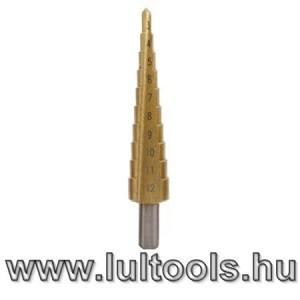 HSS lépcsős fúrószár 3-12mm