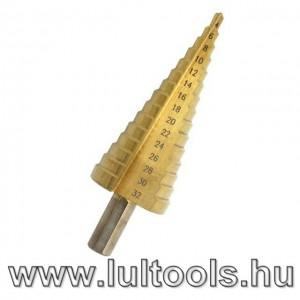 HSS lépcsős fúrószár 4-32mm