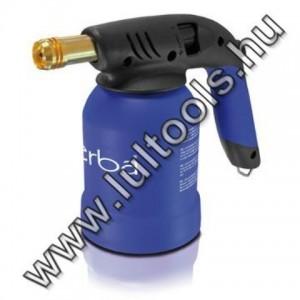 Erba műanyag házas gázlámpa/forrasztó lámpa piezos