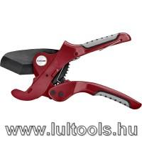 Csővágó fogó 0-42mm (PVC, PPR, PP, PE, PEX, PB, PVDF csövekhez)