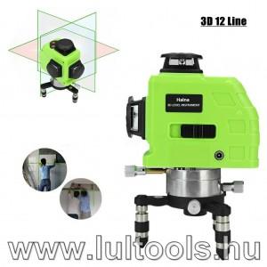Szintező lézer akkumulátoros önbeálló 360°