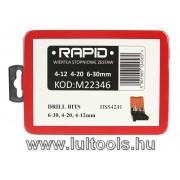 Rapid HSS lépcsős fúrószár készlet M22346