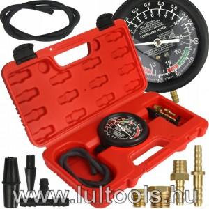 Vákuum mérő és AC pumpa mérő óra-manométer