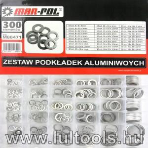Alumínium alátét készlet 300db
