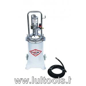 Pneumatikus (levegős) zsírzó 17 l