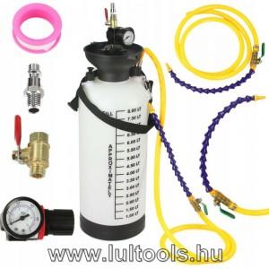 Olajbetöltő pneumatikus-levegős 8 literes