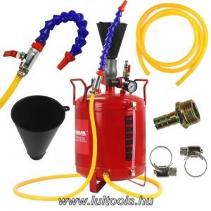 Olajbetöltő pneumatikus-levegős mobil 10 literes