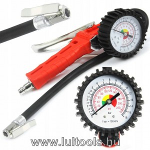 Keréknyomás mérő 0-16 bar