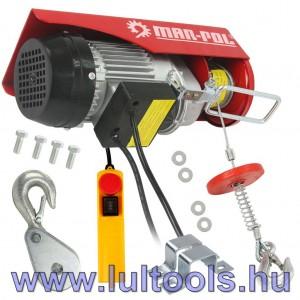 Elektromos csörlő 125/250Kg M80788