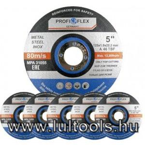 Inox fémvágókorong 125x1mm