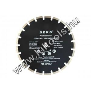 Geko aszfaltvágó gyémánttárcsa 350mm