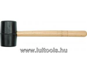 gumikalapács, fa nyéllel; 45mm