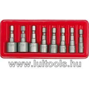 Behajtó készlet, hatlapfejű csavarhoz 8db, 5-13mm